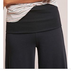 Anthropologie Emma fold over trousers